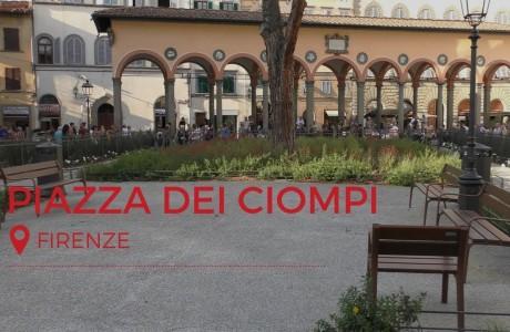Firenze, finiti i lavori in Piazza dei Ciompi