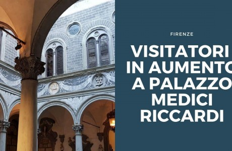 Firenze, in aumento i visitatori di Palazzo Medici Riccardi