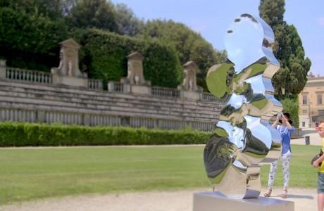 Firenze, in mostra le sculture di Helidon Xhixha e i piatti di San Giovanni