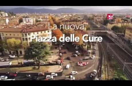 Firenze, la nuova piazza delle Cure