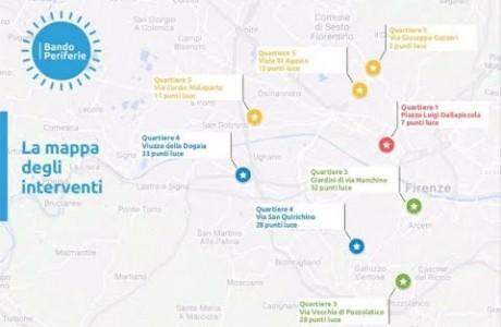 Firenze, luci e sicurezza: al via sette interventi del Bando periferie