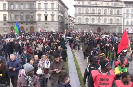Firenze, manifestazione nazionale in ricordo di Idy Diene