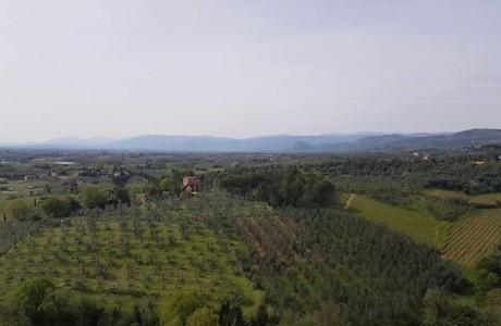 Firenze Metropolitana: la campagna dalla torre di Vinci