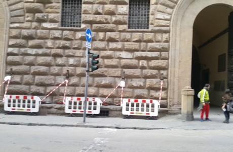 Firenze, monitoraggio facciate di palazzo Medici Riccardi