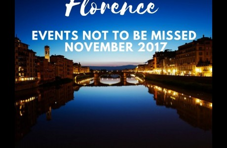 Florence, events not to be missed in November 2017