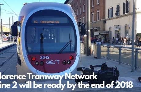Florence Tramway Network:  Line 2 will be ready by the end of 2018
