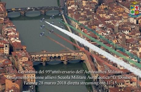 Frecce Tricolori Firenze 2018
