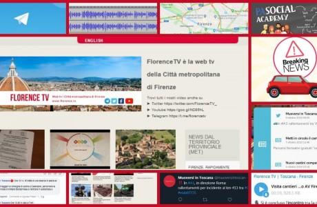 Giornalismo e comunicazione live: i casi di Florence TV e Muoversi in Toscana