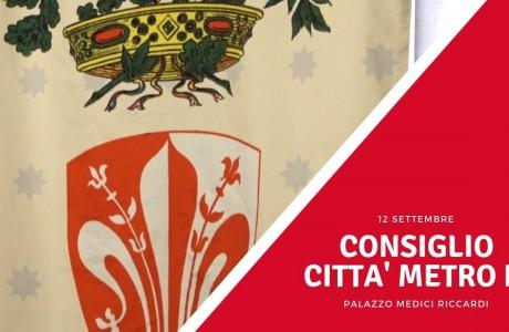 Il 12 settembre il Consiglio della Città metropolitana di Firenze