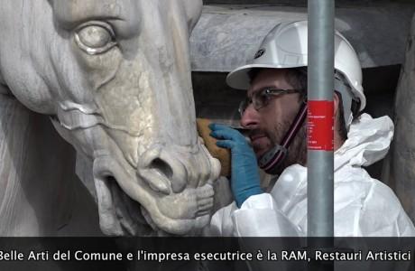 """Il """"Biancone"""" di Firenze: restauro in diretta"""