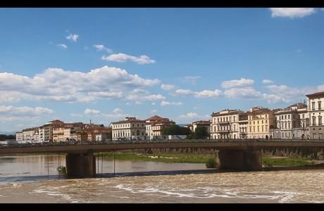 Il Ponte Vespucci riapre parzialmente al traffico