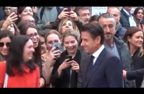 Il Presidente del Consiglio Conte torna professore per un giorno a Firenze