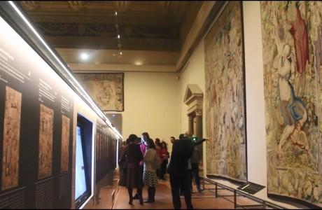 Il principe dei sogni: la serie di arazzi medicei ritorna a Palazzo Vecchio