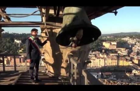 Il rintocco della Martinella per ricordare i 75 anni dalla Liberazione di Firenze