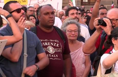 In piazza contro ogni forma di razzismo