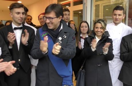 """Inaugurate le nuove facciate alla succursale del """"Buontalenti"""""""