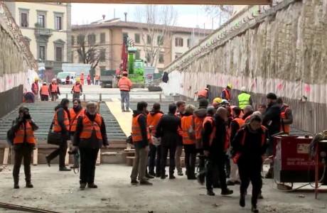 Inaugurazione sottopasso Strozzi il 1° giugno 2017
