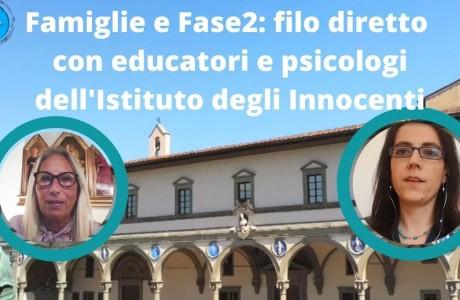Infanzia, filo diretto con educatori e psicologi degli Innocenti per affrontare la Fase 2