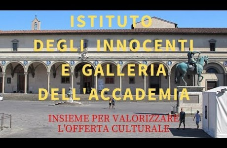 Istituto degli Innocenti e Galleria dell'Accademia uniti per valorizzare l'offerta culturale