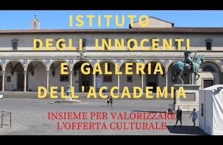 Istituto degli Innocenti e Galleria dell'Accademia uniti per valorizzare l'offerta culturale