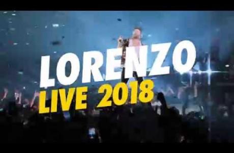 Jovanotti Lorenzo Live 2018 a Firenze