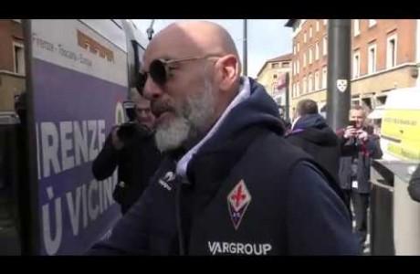 La Fiorentina sulla nuova Linea 2 della Tramvia