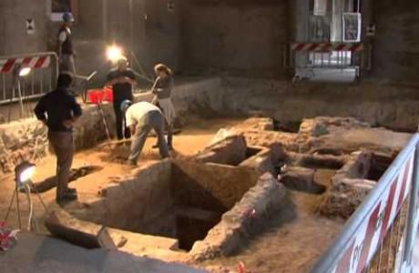 La storia degli scavi di S. Orsola