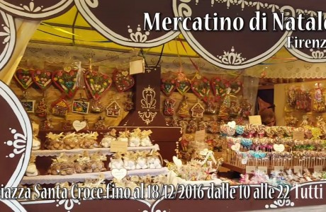 L'atmosfera del Natale invade Firenze coi tipici mercatini