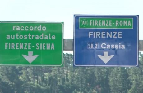 Lavori alla rotatoria al casello di Firenze Impruneta dal 26 al 28 gennaio