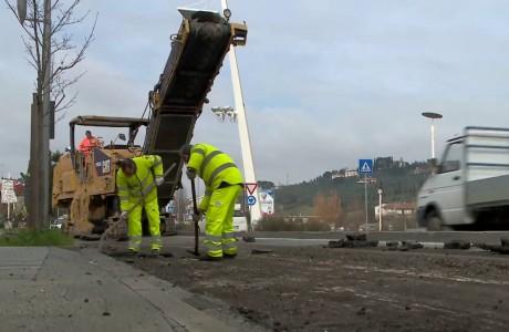 Lavori di asfaltatura su Sp 128 e Sp 13