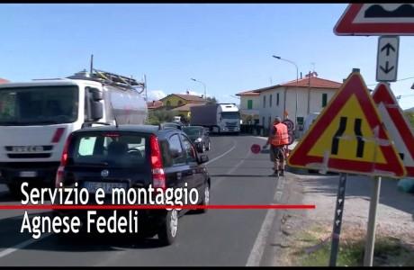 Lavori SR436 Francesca e SR429 a Brusciana