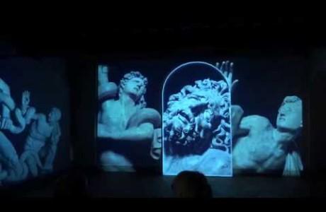 Leonardo e Pontormo, videoinstallazione a Empoli