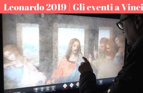 Leonardo2019, cinque secoli dalla morte del Genio, ma Vinci omaggia la sua nascita