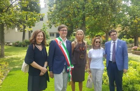 L'Istituto degli Innocenti dedica un giardino a Patrizio Cipollini