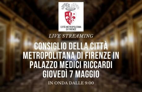 LIVE: il Consiglio della Città metropolitana di Firenze del 7 maggio 2020
