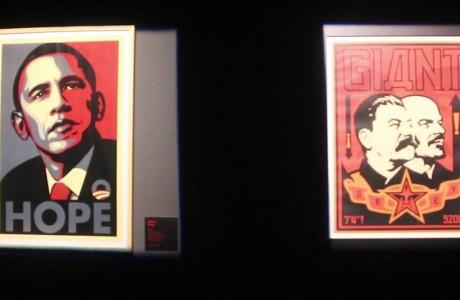 Make Art Not War: la street-art ribelle di Obey per la pace, l'ecologia e il femminismo.