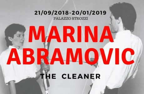 "Marina Abramovic in mostra a Firenze con ""The Cleaner"""