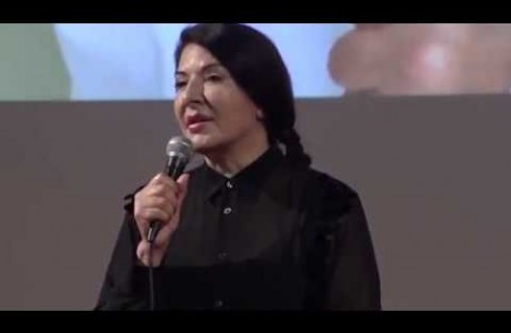 "Marina Abramovich, ""The Cleaner"" in Florence"