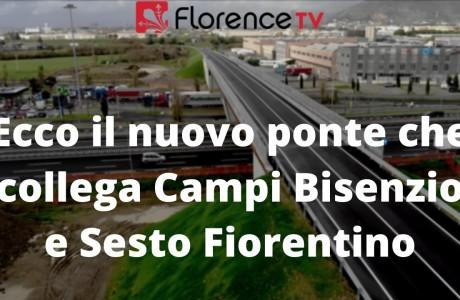 Mezzana Perfetti-Ricasoli, asse viario Firenze-Prato: inaugurato il ponte sull'A1