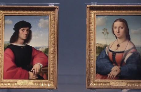Michelangelo e Raffaello risplendono agli Uffizi