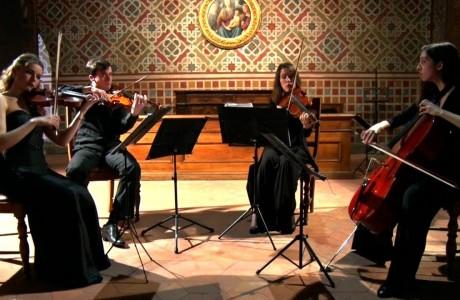 Musica, i concerti dei Quartetti della liuteria toscana