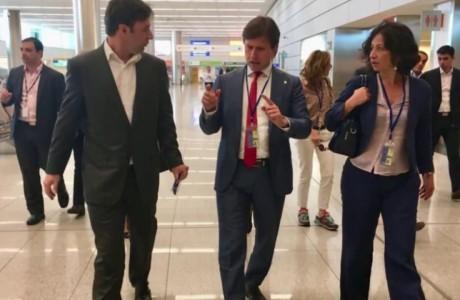 Nardella, missione istituzionale in Sud America