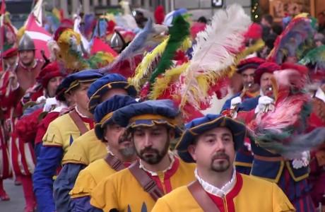 Natale 2017, Corteo storico della Repubblica fiorentina
