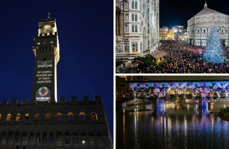 Natale Firenze 2017: la città s'illumina con F-Light