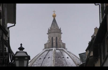 Neve su Firenze e area metropolitana