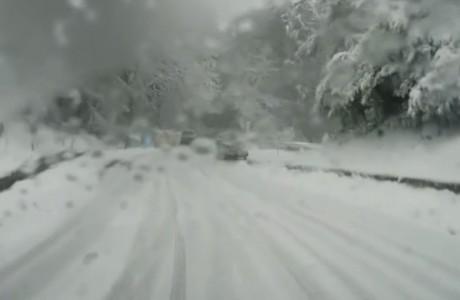 Nevicata del 3 febbraio 2018