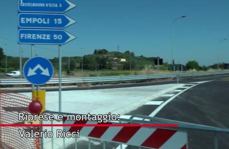 Nuova sr 429, il 27 luglio apertura del tratto Brusciana-Dogana e del ponte di Granaiolo