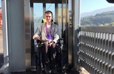 Nuovi ascensori nella stazione di Rignano sull'Arno-Reggello