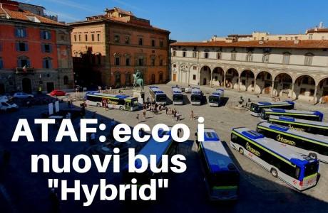 Nuovi bus ibridi a Firenze