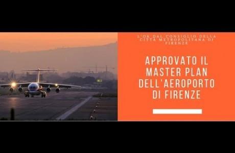Ok del Consiglio metropolitano al master plan dell'aeroporto di Firenze